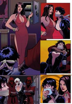 Catwoman x Black Cat comic 3