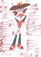 Princess Daisy Statistics and abilities by MarioStrikerMurphy