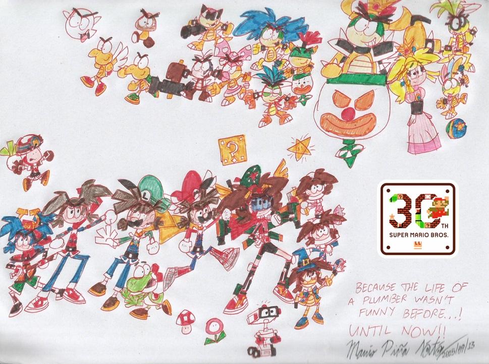 Super Mario Bros  Bowser Jr And The Koopalings