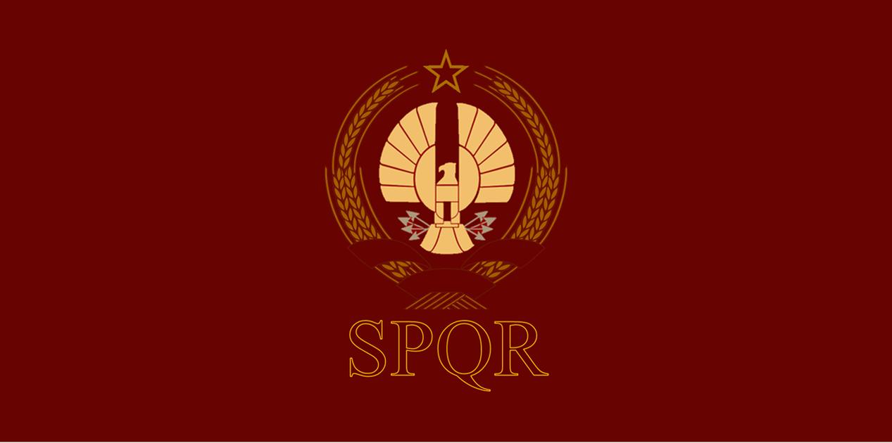 Roman Spqr Wallpaper Flag of the Roman Repu...
