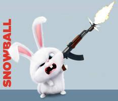 Snowball With An AK-47! by MarioStrikerMurphy