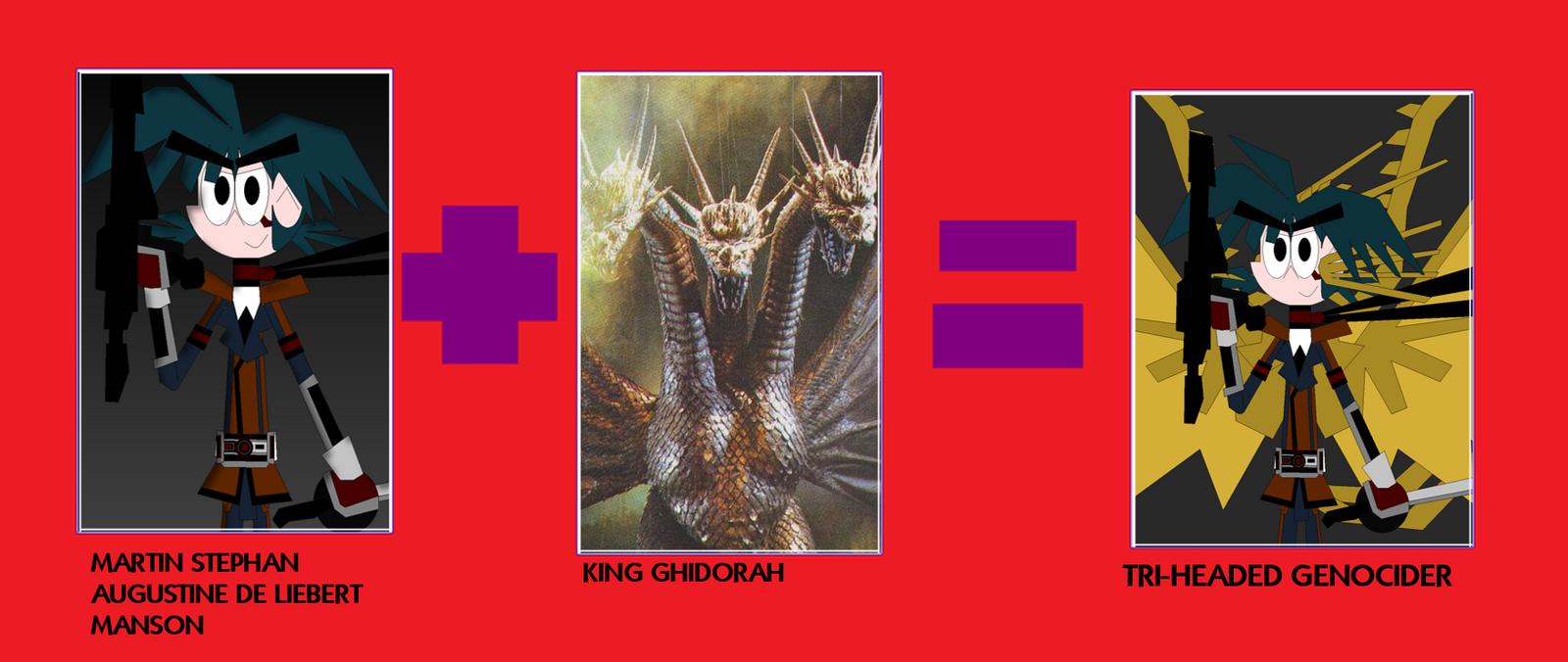 Manson And King Ghidorah Fusion Meme by MarioStrikerMurphy ...