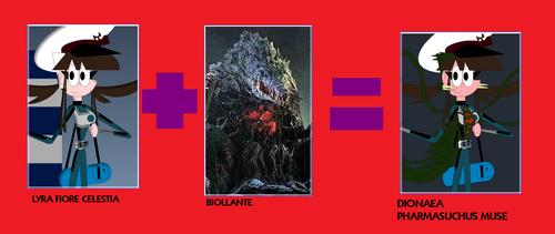 Fiore Celestia and Biollante Fusion Meme by MarioStrikerMurphy