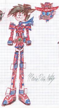 Drake Rogers, Kamen Rider Patriot