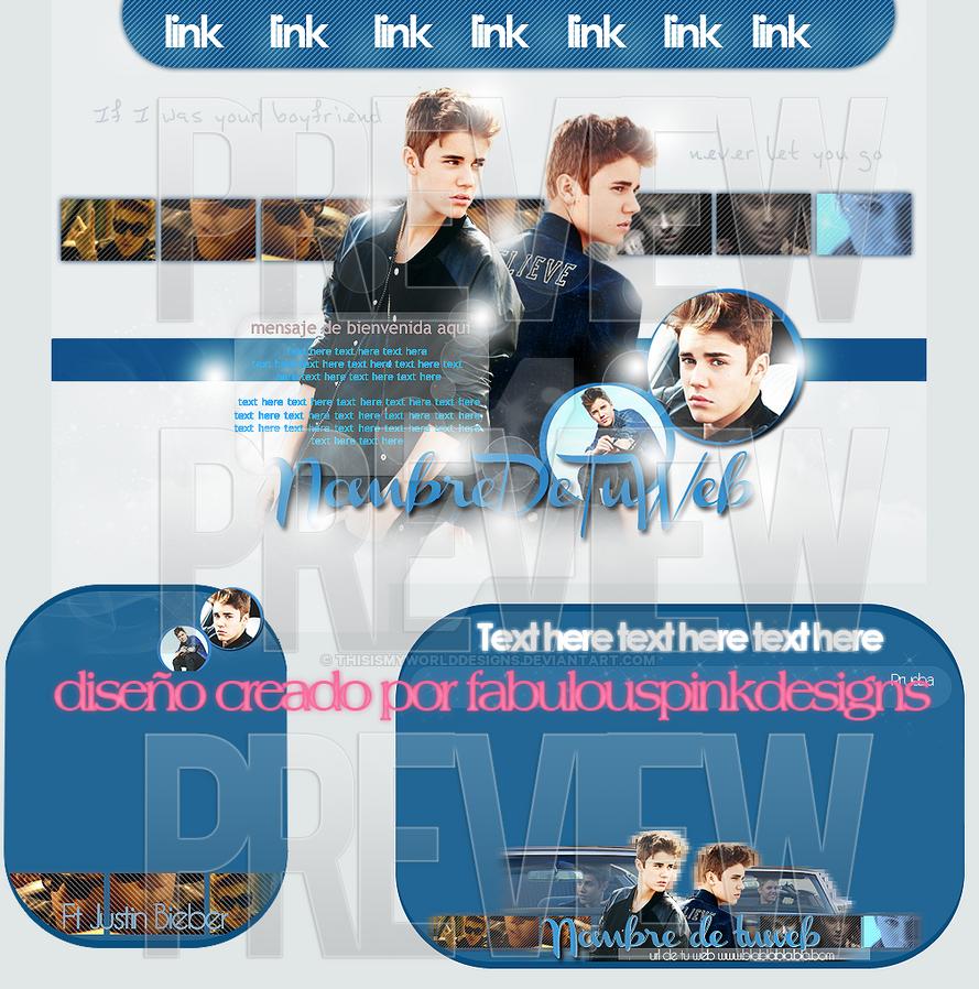 Premade Justin Bieber Boyfriend :) by ThisIsMyWorldDesigns