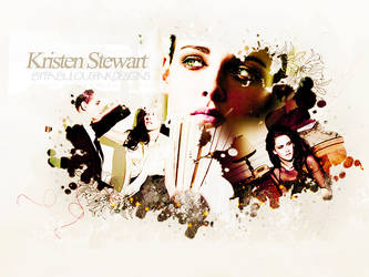Wallpaper Kristen Stewart 001 by ThisIsMyWorldDesigns