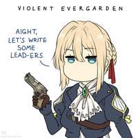 Violent Evergarden by Ra1-x3