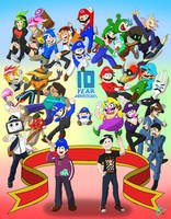 SMG4 10 Anniversary (Full Set)