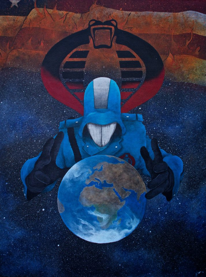 Cobra Commander by simonbearedwards