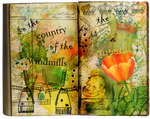 Tulip mania in the country of the windmills