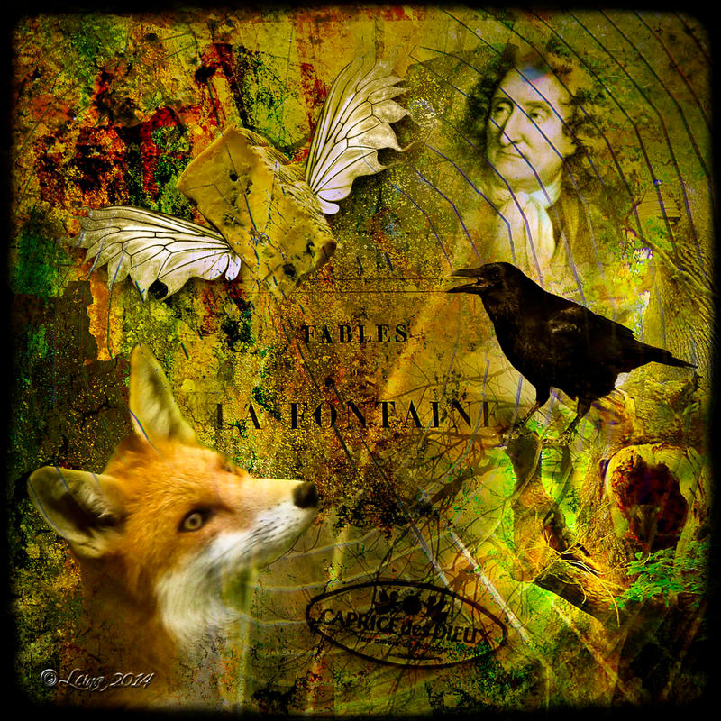 The Crow and the fox by Leina1