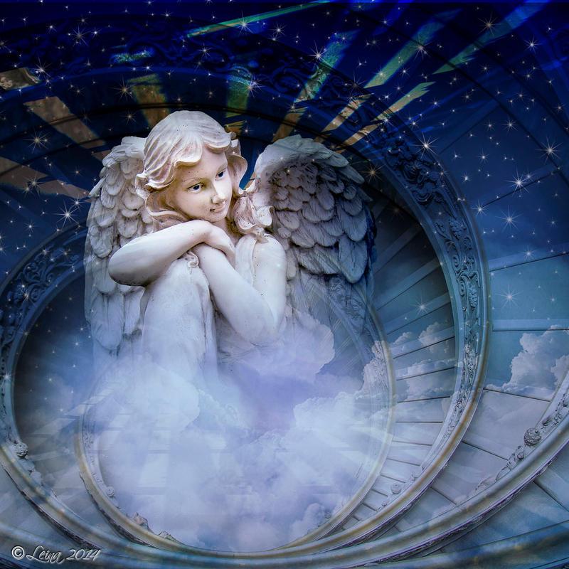 My guardian angel by Leina1