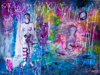 Frida Kahlo et Roxane Coble by Leina1