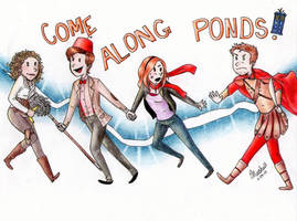 Come Along Ponds! by Solemnclaw