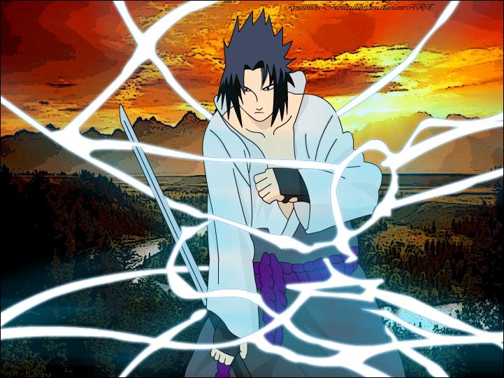 Sasuke - Chidori Nagashi by Ryuumon-Houzukimaru on DeviantArt