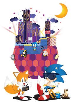 Sonic The Screensaver-Welcome to Studiopolis
