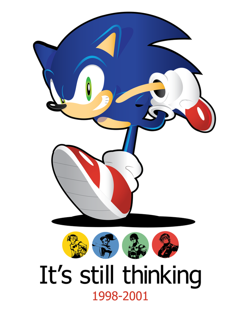 Sega Dreamcast-It's still thinking by SonicTheBlueStar