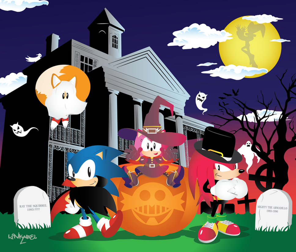 Happy Halloween from Sonic and friends! by SonicTheBlueStar