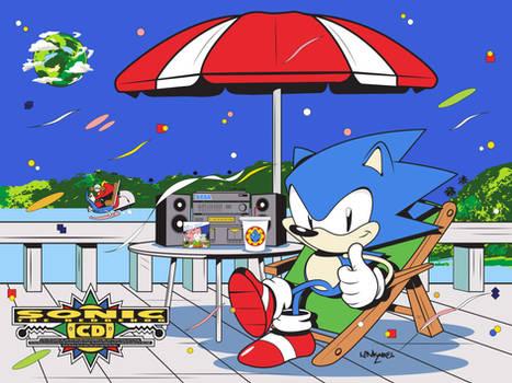 Sonic CD-25th anniversary
