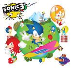 Sonic The Screensaver-Sonic 3 25th anniversary