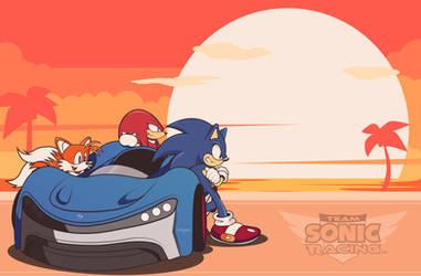 Team Sonic Racing by Linkabel32