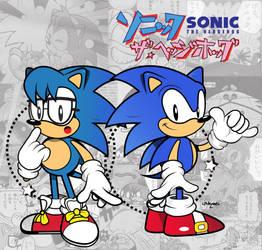 Nicky and Sonic-Sonic manga