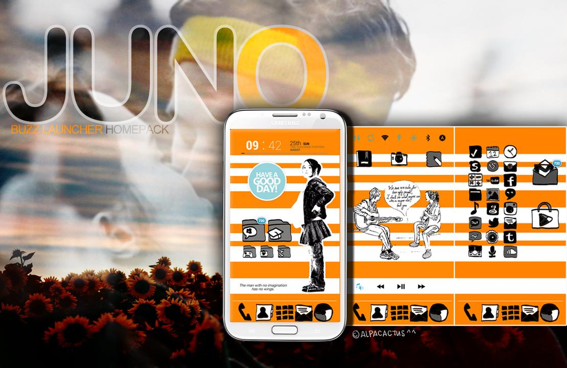 JUNO Buzz Launcher Homepack by alpacactus on DeviantArt