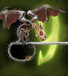 Death Wing by DesertDraggon