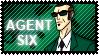 Agent Six Stamp by RandomDraggon