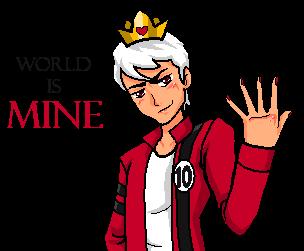 WORLD IS MINE by RandomDraggon