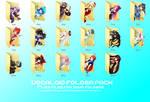 Vocaloid Folder Icon Pack DL