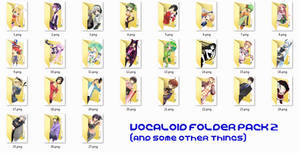 Vocaloid Folder Icon Pack 2