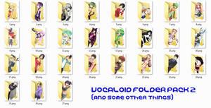 Vocaloid Folder Icon Pack 2