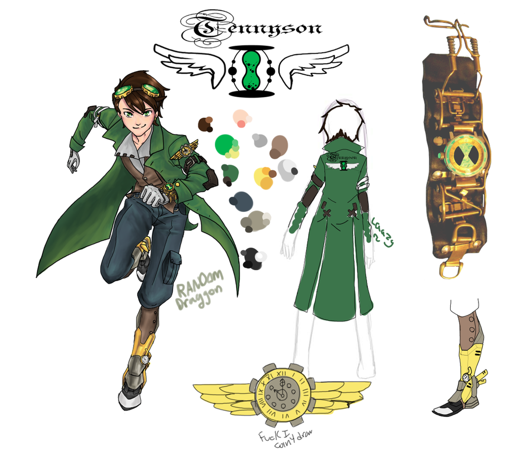 Ben Tennyson -space?-Steampunk Redesign by RandomDraggon