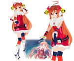 MMD Christmas Miki