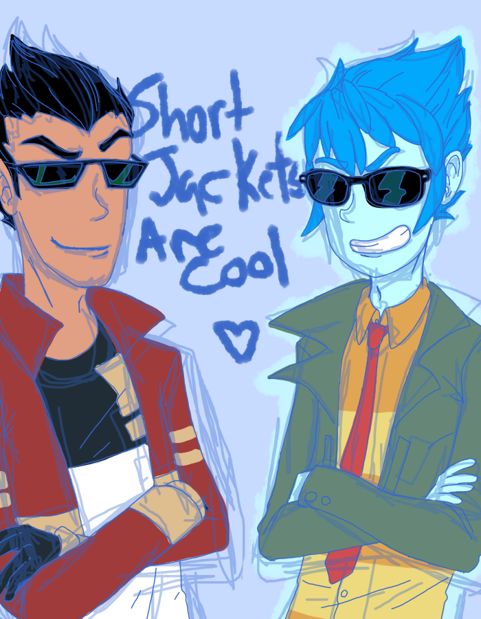Short Jackets by RandomDraggon
