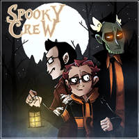The Spooky Crew by DesertDraggon