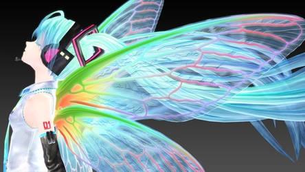 Ginjishi Cicada Wings DL Link by DesertDraggon