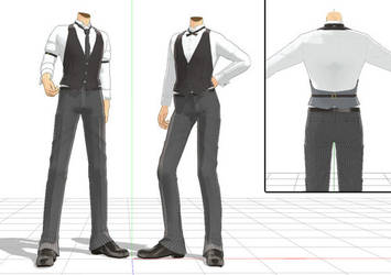 Fancy Male Outfit Download by DesertDraggon