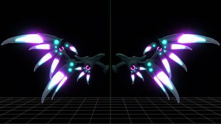 Cyber Wings DL Link by DesertDraggon