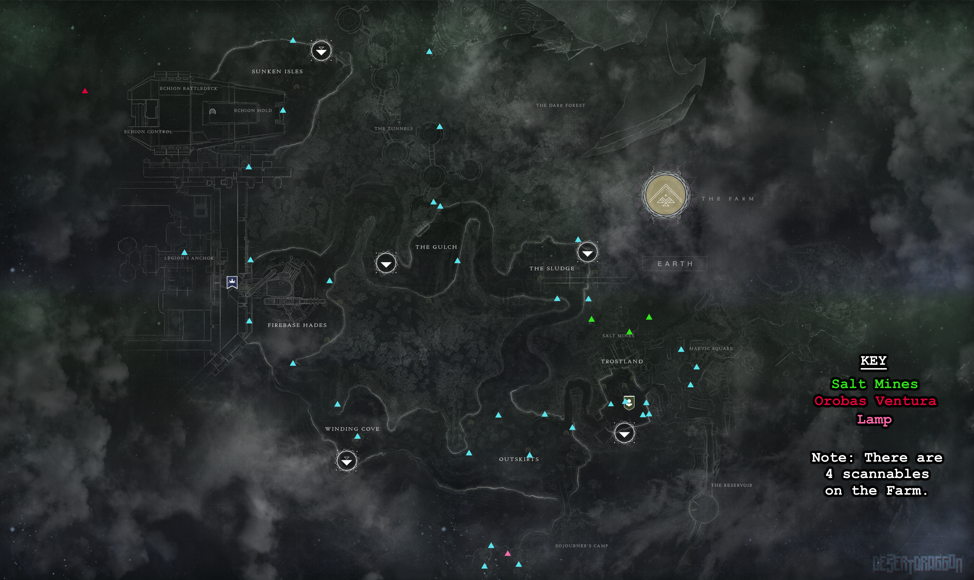 All Scannable Locations Maps+WM Update > Destiny 2 | Forums