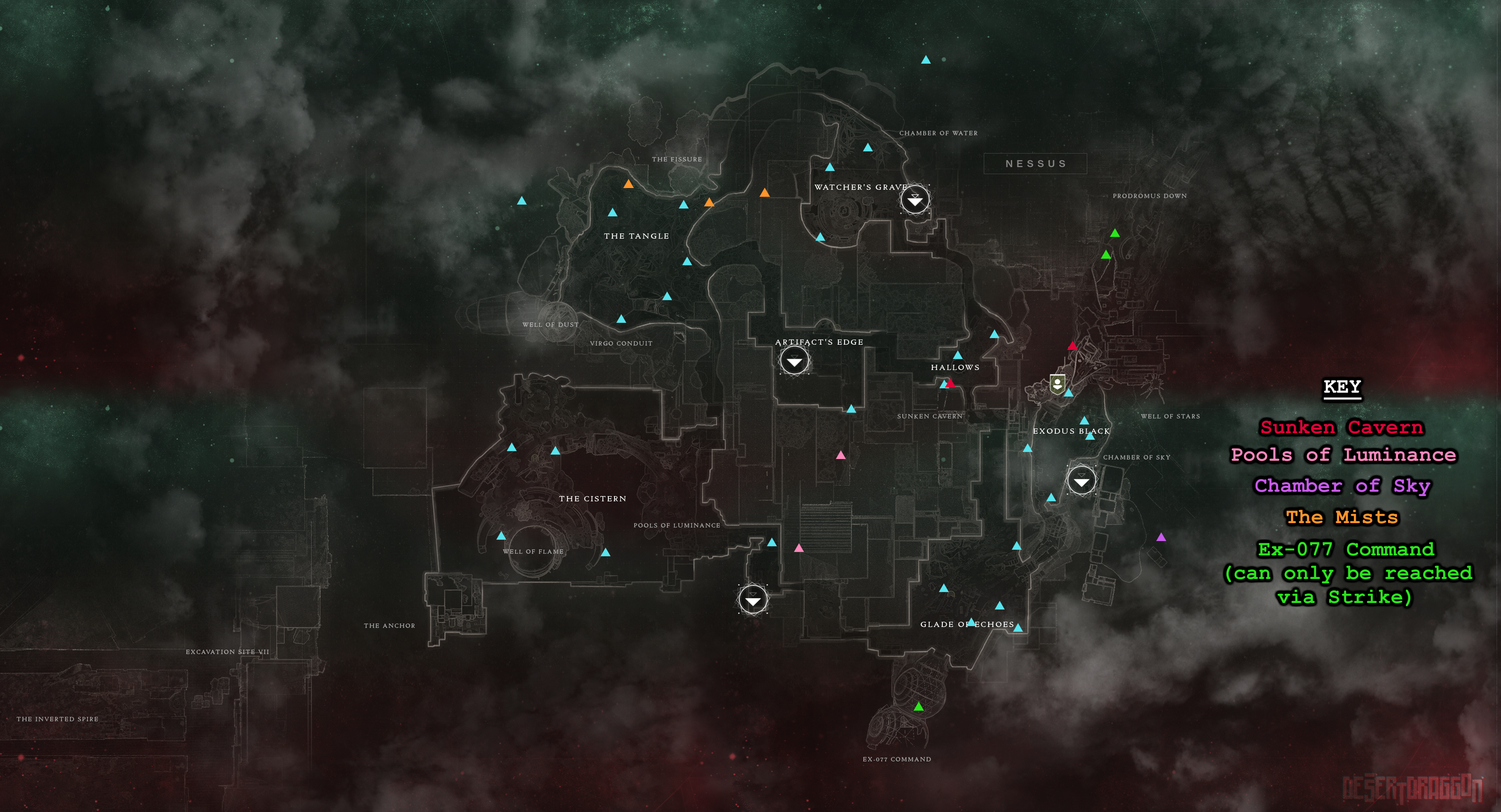 All Scannable Locations Maps+WM Update > Destiny 2 | Forums | Bungie net