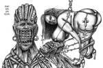 Drako Dark Syde: BBW Bondage Gothic Evil Queen by MoodDisorder