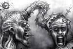 Drako Dark Syde: Sacrilegious Rites of Pain Union. by MoodDisorder