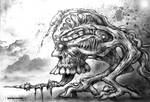 Drako Dark Syde: Into The Necro-Badlands... by MoodDisorder