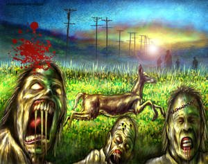Drako Dark Syde: The Landscape has been Desecrated