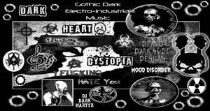 Drako Dark Syde: Gothic Electro-Industrial Music.
