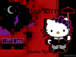 Gothic Hello Kitty by Japoshi