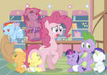 Pinkie Pie the Babysitter