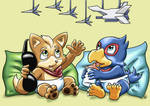 Prize: Littlest Star Fox Pilots
